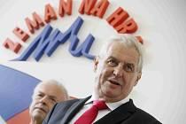 Prezidentský kandidát Miloš Zeman