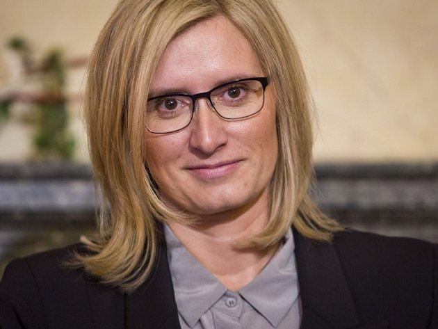Ministryně pro místní rozvoj Karla Šlechtová.