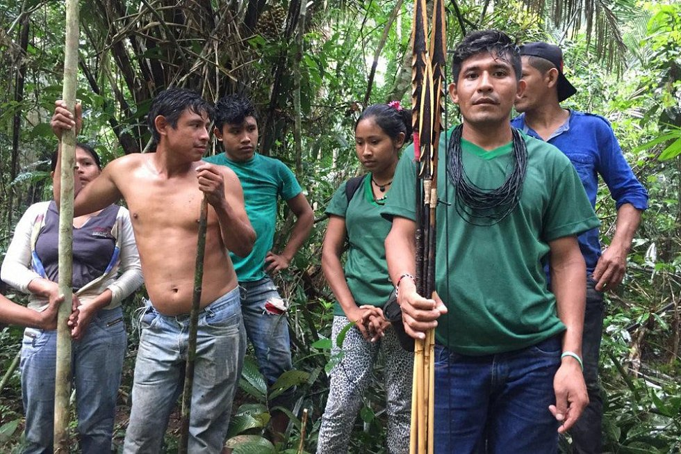 Lidé z brazilského kmene Uru-eu-wau-wau