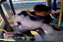 Útočníka zachytil kamerový systém