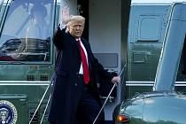 Donald Trump opouští Bílý dům