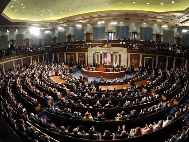 Sněmovna reprezentantů amerického Kongresu.