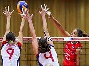 Volejbalistky Srbska jsou nastoupeny k zápasu na ME.