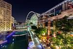 Dubai Festival City – největší rezidenční, obchodní a zábavní centrum vDubaji