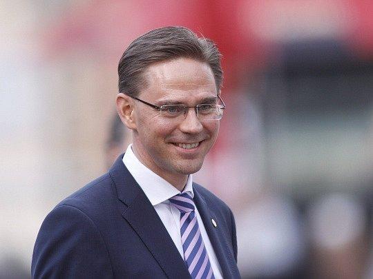 Finský premiér Jyrki Katainen.