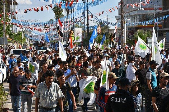 Volby a turkmenské protesty v Iráku