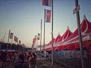 SZIGET 2017. Největší festival ve střední Evropě se odehrává na Ostrově Svobody v srdci Budapešti.
