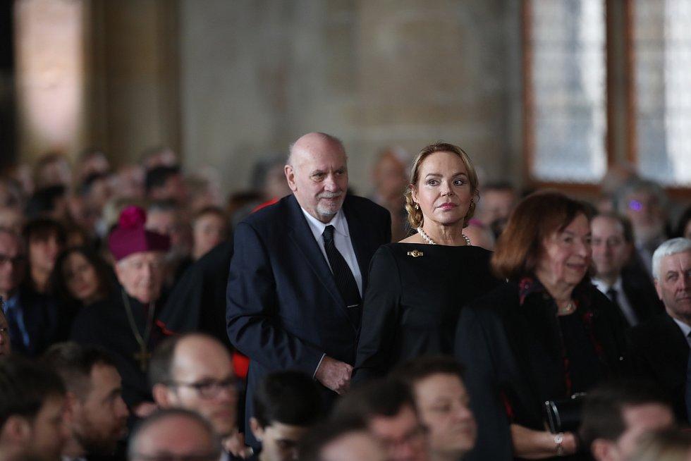 Inaugurace Miloše Zemana. Pavel Rychetský.