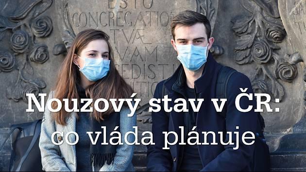 Plán vlády na postupné uvolňování opatření kvůli koronaviru.