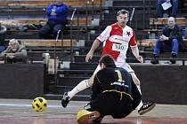 Pavel Kuka patřil mezi nejaktivnější slávistické hráče.