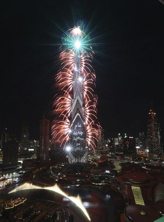 Novoroční oslavy v Dubaji