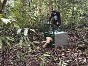 Jediná známá albínská orangutanice na světě