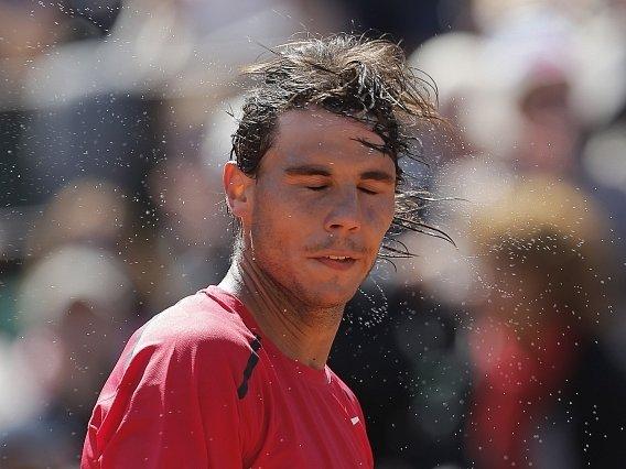 Rafael Nadal na French Open.