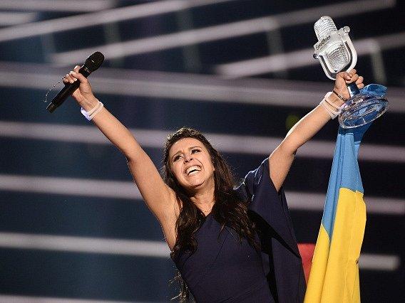 Ukrajinská zpěvačka Jamala.