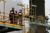Při požáru v petrochemickém závodě v Saúdské Arábii přišlo o život 12 zaměstnanců a dalších 11 bylo zraněno. Ilustrační foto.