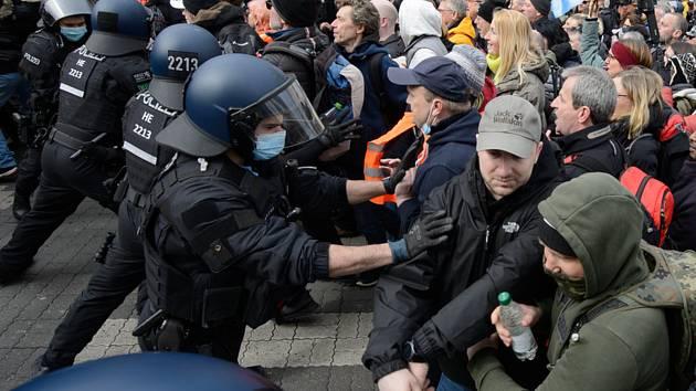 Zásah policie v německém Kasselu