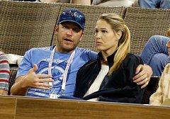 Bode Miller se svou manželkou Morgan v březnu letošního roku