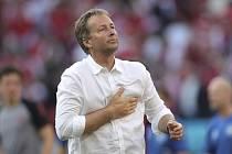 Trenér Dánska Kasper Hjulmand.