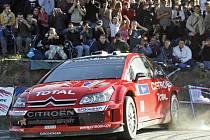 Sebastien Loeb na korsické rallye
