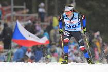 Kateřina Razýmová, závod žen na 10 km volně v rámci Světového poháru v běhu na lyžích, 18. ledna 2020 v Novém Městě na Moravě.