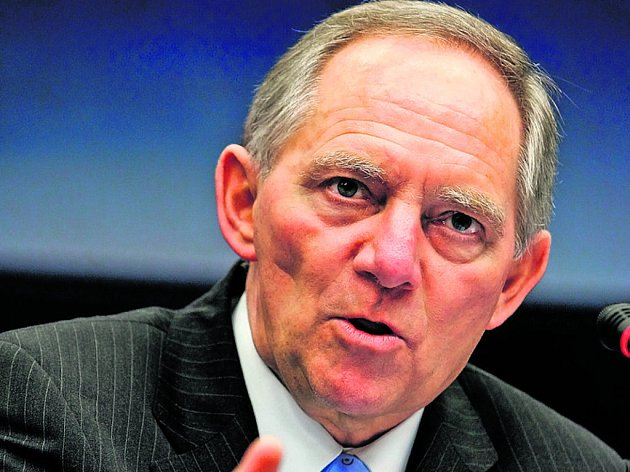 Německý ministr vnitra Wolfgang Schäuble.