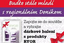 Zapojte se do soutěže a vyhrajte  dárkové balení s produkty RYOR.