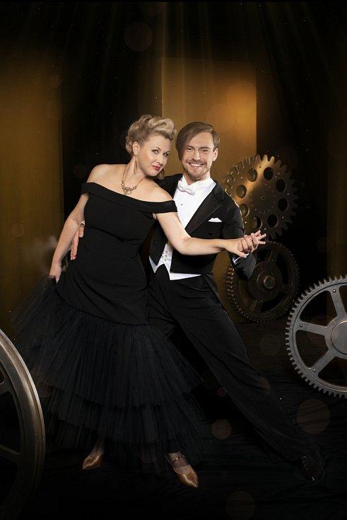 Zpěvačka Tereza Černochová a Dominik Vodička