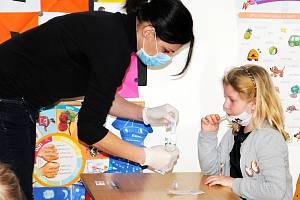 Testování školáků. Ilustrační snímek