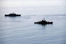 Lodě íránské armády se blíží k přístavu Čáhbahár v Ománském zálivu