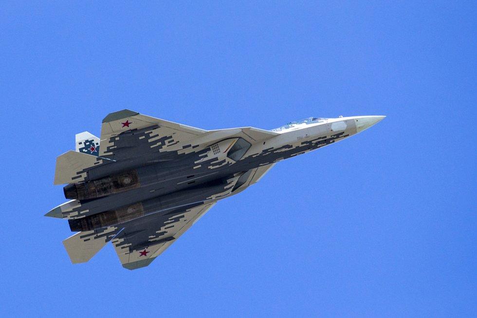 Ruský bojový letoun Suchoj Su-57