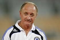 Dnes už bývalý trenér anglické Chelsea Luis Felipe Scolari.