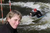 ZKUŠENOST. Mezi nejzkušenější slalomáře patří Irena Pavelková, v peřejích pod Lipnem se o víkendu objeví i českobudějovický Pinkava.