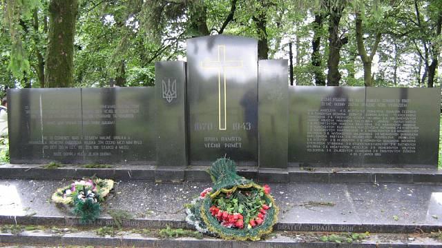 Památník obětem tragédie v Českém Malíně