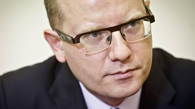 Bohuslav Sobotka v roce 2014