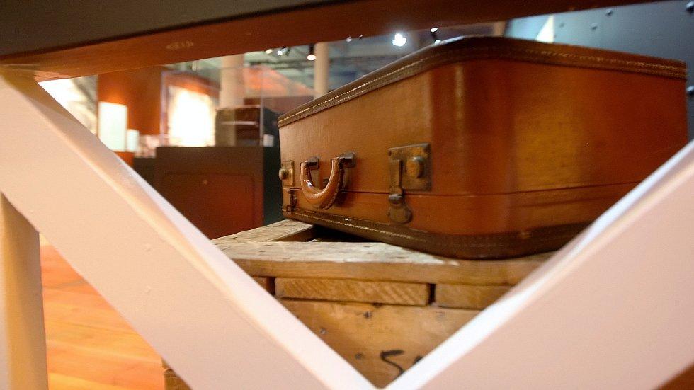 Výstava Titanic v pavilonu C brněnského výstaviště. Brno, rok 2018