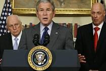Prezident Bush vyhlašuje svůj ekonomický plán.