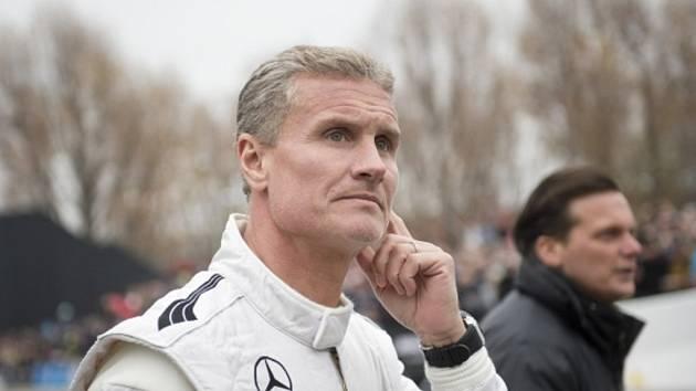 Bývalý pilot formule 1 David Coulthard.