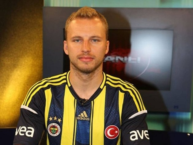Obránce Fenerbahce Istanbul Michal Kadlec.