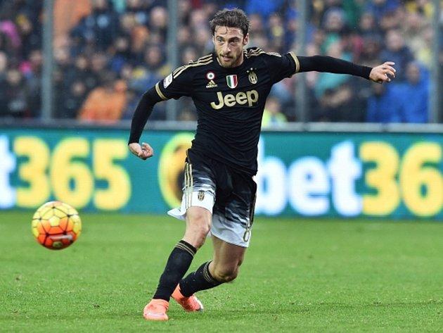Claudio Marchisio z Juventusu.