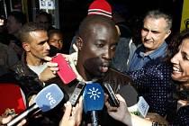 Imigrant ze západoafrického Senegalu Ngame.
