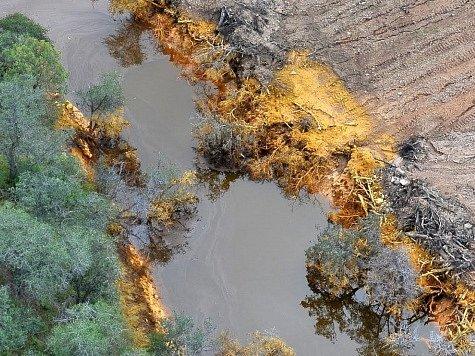 Únik jedu postihl řeky mexické řeky Bacanuchi a Sonora.