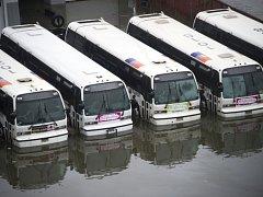 Devastující pouť hurikánu Sandy ovšem ještě neskončila.