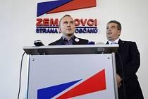 Vladimír Kruliš (vlevo) a Zdeněk Štengl