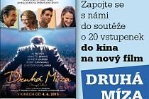 Zapojte se s námi do soutěže o 20 vstupenek do kina na nový film Druhá míza.