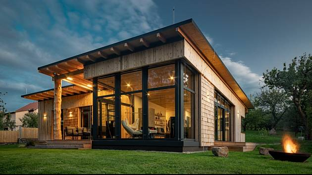 Už žádné schody, to byl jeden z hlavních požadavků investorů, které přízemní dům dokonale splnil.