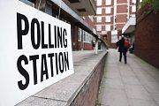 Parlamentní volby v Británii.