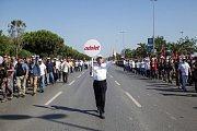 Pochod za právo - protestní hnutí v Istanbulu