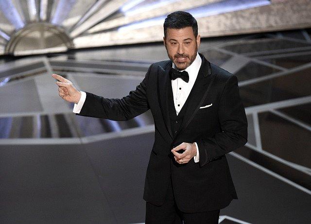 Moderátor večera Jimmy Kimmel