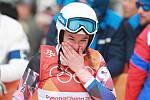 Skikrosařka Nikol Kučerová na olympijských hrách v Pchjongčchangu.