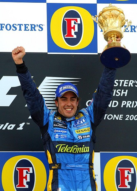 Fernando Alonso jako pilot mistrovského Renaultu